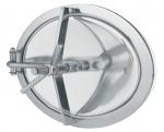 Accessoires - Porte inox rectangulaire et ovale