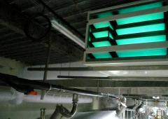 - Solution fixe de décontamination d'air